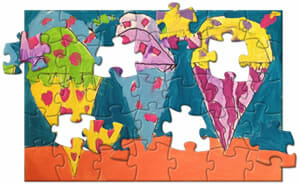 Custom Puzzles from your kids artwork or photos | PrintArtKids